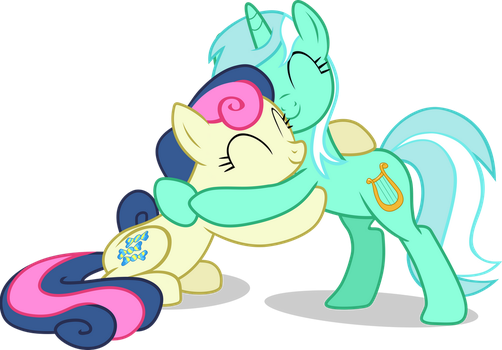 LyraBon Hearts and Hooves Day by FrownFactory