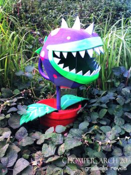 Chomper Plants vs Zombies by zienta