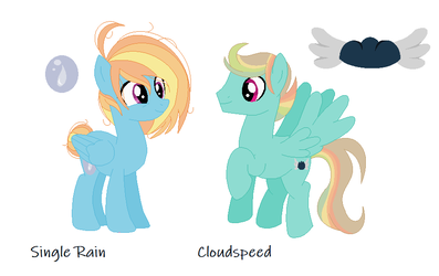 Single Rain and Cloudspeed by AynyeClaer