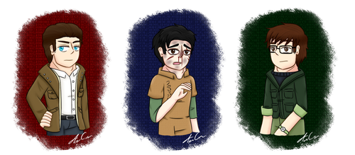 Outlast Protagonists by Ariel-Bunny