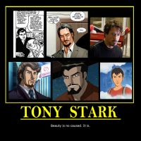 Tony Stark by KakushiMiko