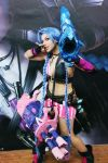 Jinx Cosplay League of Legends Costume by AxelTakahashiVIII