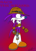 Nack the Weasel by EUAN-THE-ECHIDHOG