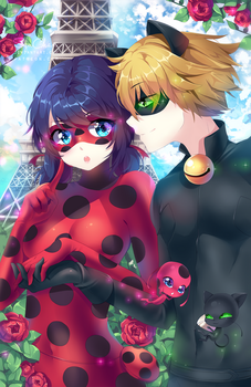 Miraculous Ladybug by SquChan
