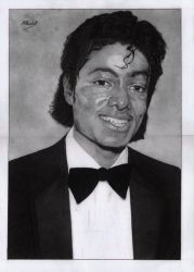 Michael Jackson (graphite) by mchurchill1982