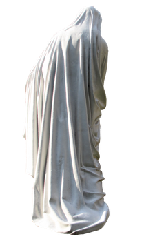 Saint Marry Statue. back view by Mustafa-H
