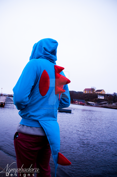 Totodile Hoodie Photo #1 by NymphadoraDesigns