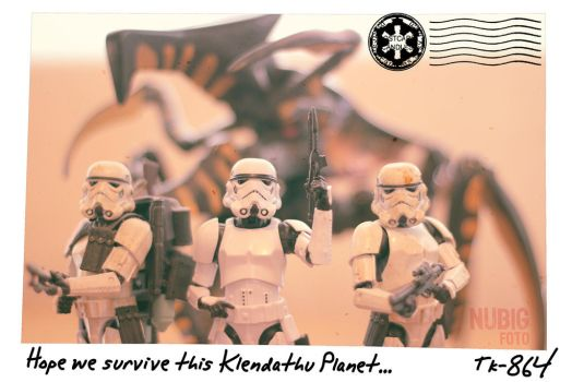 Troopers in Klendathu by pacoespinoza