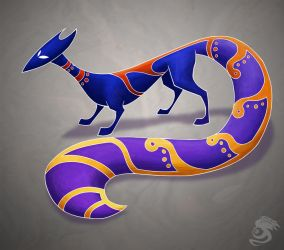 Spirit Fox by Oddstuffs