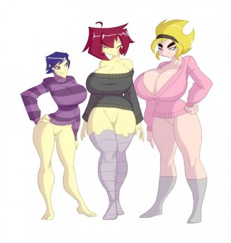 Sweater Puppies by Evil-Count-Proteus