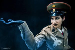 Dragunov cosplay by Silent-Neutral