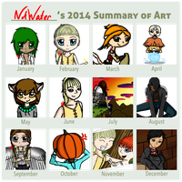 2014 Summary Of Art by Fyreglyphs