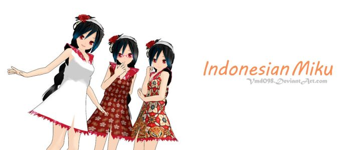 The Indonesian Miku (Download) by VMD098
