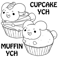 Pastry Paca YCHs (OPEN) by Zagittorch