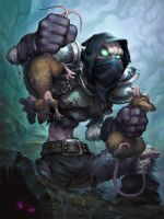 Ratcatcher - Hearthstone by JayAxer