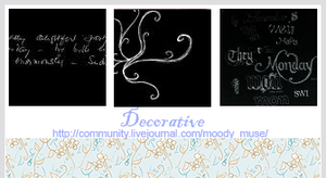 Decorative by chaoticfae