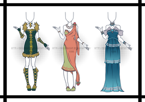 ...Long Night Dresses...Adopts/CLOSED by Seelenbasar