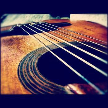 My guitar III by melodycullen