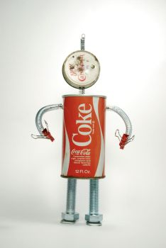 Cola robot by dragorien