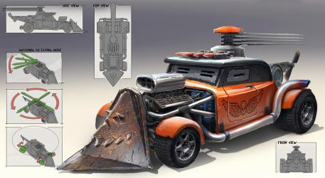 Car design by martydesign