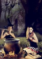 Witches by Dwrek