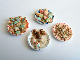 Cookies in Plate by ALL-Biscuit