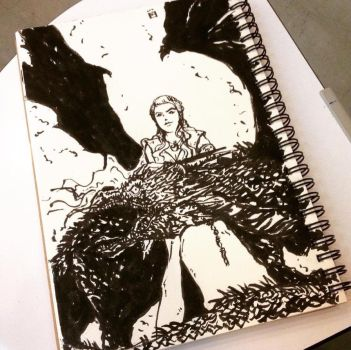 Mother of Dragons by gogman