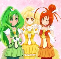 Smile PreCure! by Jeera97