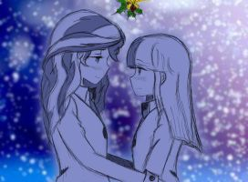 It's just a Mistletoe by angeltorchic