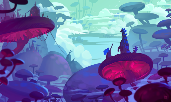 Concept art for a new game by StephanieStutz