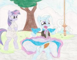 Request  - Twilight 'uplifting' Trixie by wjmmovieman
