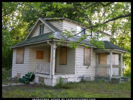Old Abandoned House Stock by FairieGoodMother
