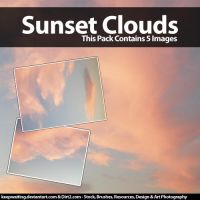 Beautiful Sunset Clouds Stock by KeepWaiting