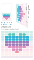 Heart Equalizer - Card by vicexversa