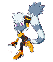[FA] Tangle the lemur. by A-Certain-Succubus