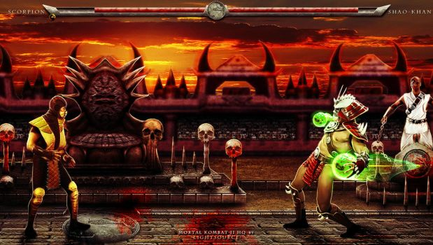 Mortal Kombat 2 HD by xXLightsourceXx