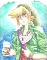 Hipster Link 2 by MinishCapsLock