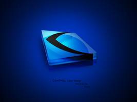 Control 3D logo by Krilce