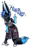 Rude-A-Tude Badge by TheHuntingWolf