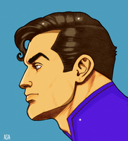 Clark Kent by arissuparmanart