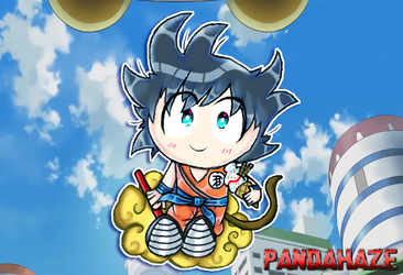DragonBall Z - Kid Goku by PandaHaze