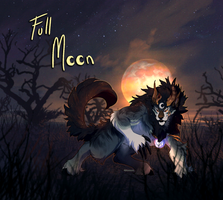 Hallowoolyne Auction: Full Moon (CLOSED) by Verlidaine