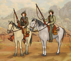 Boer burghers by ColorCopyCenter