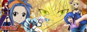 Fairy Tail Girls Facebook Cover by kimmy122122