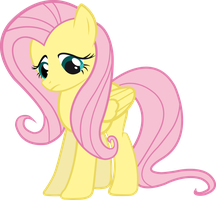 Fluttershy not being assertive by RedPandaPony