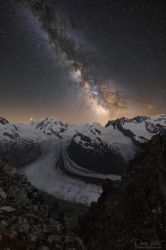The shimmering band of the Milky Way by LinsenSchuss
