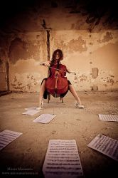 Cello Concert for nature 2 by Mircea-Marinescu