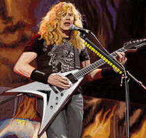 Dave Mustaine3 by geum-ja1971