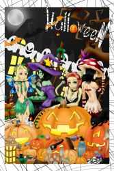 Trick or Treat- Colored by PandoraVengeance