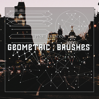 Geometric Brushes by PinkEditions07